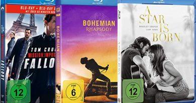 TOP 10 Blu-ray Charts (KW 15)