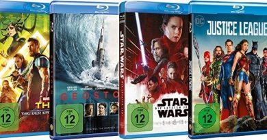 TOP 10 Blu-ray Charts (KW 29)