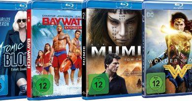 TOP 10 Blu-ray Charts (KW 10)