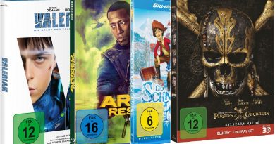 TOP 10 Blu-ray Charts (KW 50)
