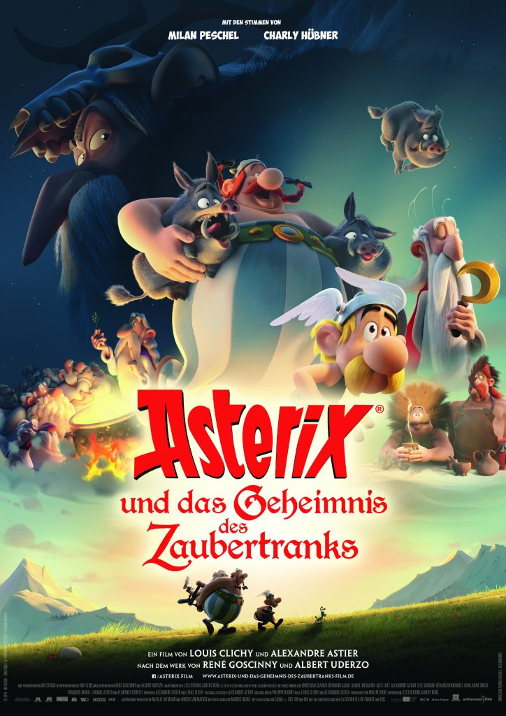 Asterix Und Das Geheimnis Des Zaubertranks Comic