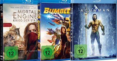TOP 10 Blu-ray Charts (KW 33)