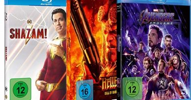 TOP 10 Blu-ray Charts (KW 45)