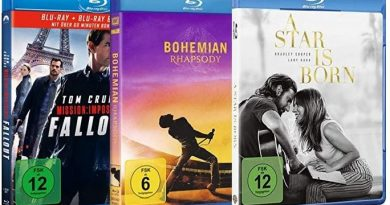 TOP 10 Blu-ray Charts (KW 20)
