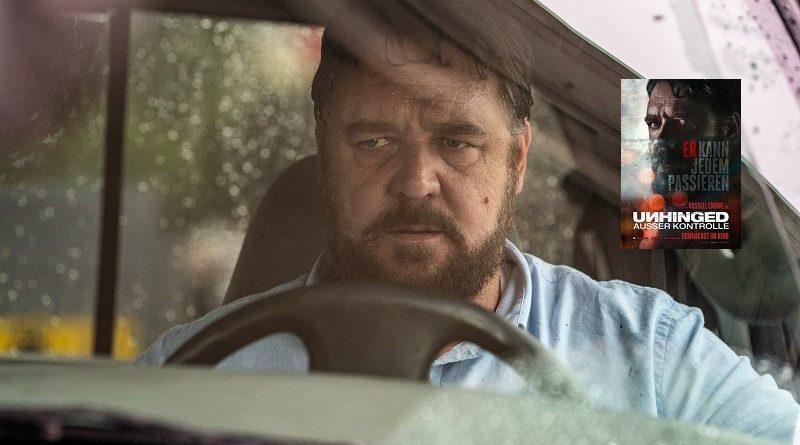 Russell Crowe in UNHINGED – AUSSER KONTROLLE: Ab 30. Juli 2020 im Kino!