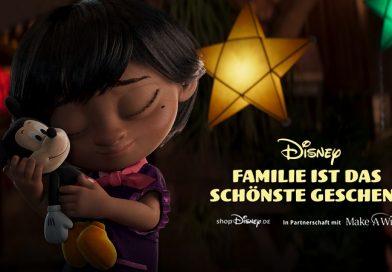 Disney veröffentlicht herzerwärmenden Weihnachts-Spot zur Unterstützung von Make-A-Wish und zusätzlich noch wunderbare Bastelvorlagen etc.