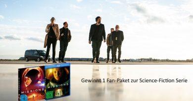 Gewinnt 1 Fan-Paket zur Science-Fiction Serie