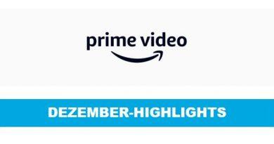 Dezember-Highlights bei Amazon Prime Video