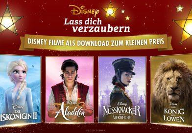 Weihnachtsaktion: Disney Filme ab 14.12.2020 als Download zum kleinen Preis!