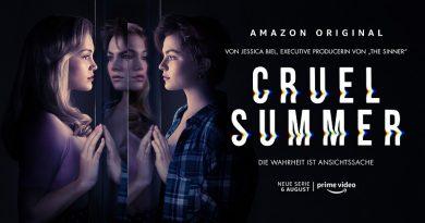 Amazon Original Serie Cruel Summer startet am 6. August exklusiv bei Amazon Prime Video