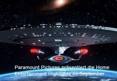 Die Paramount Home Entertainment Neuheiten im September