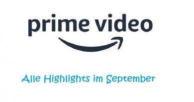 Das sind die Highlights im September bei Amazon Prime Video