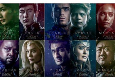 ETERNALS – Neue Featurette und Charakter-Plakate